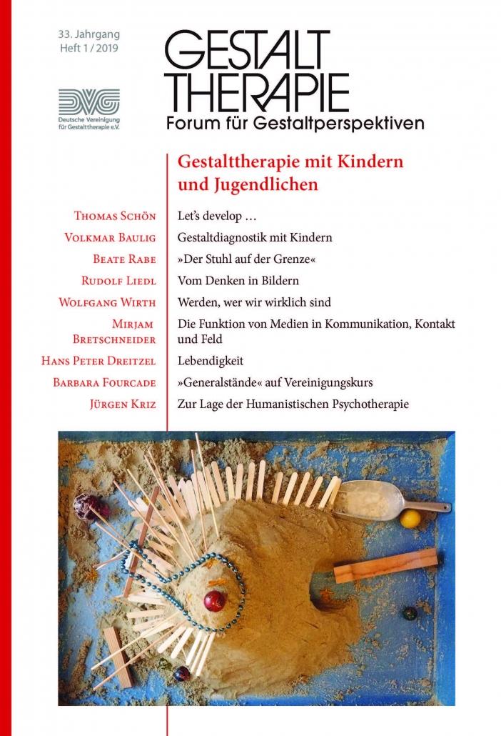 Aktuelle Ausgabe: Gestalttherapie mit Kindern und Jugendlichen