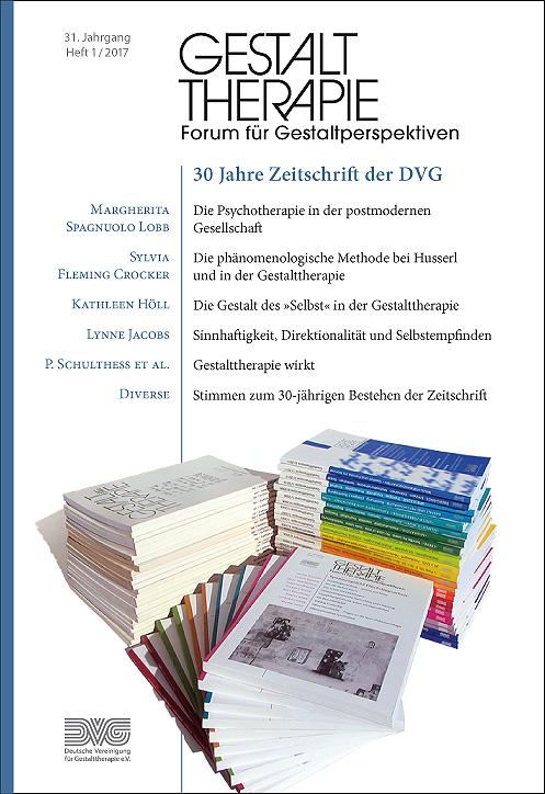 Aktuelle Ausgabe: 30 Jahre Zeitschrift der DVG